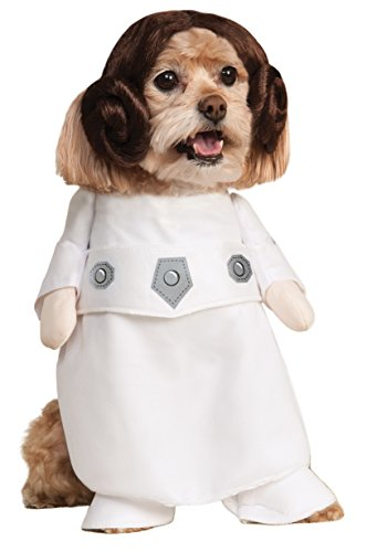 Rubies Costume Star Wars Collection Pet Costume, Princess Leia, X-Large