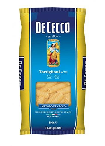 De Cecco 10 x de Tortiglioni No. 23 Pâte italienne 500 g