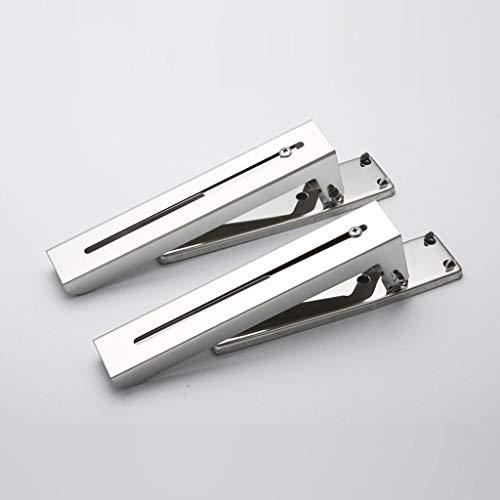 RSWLY Soporte retráctil de acero inoxidable para estante de cocina 24 * 19.8cm