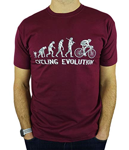 6TN Real Hombres No t Need Motores Divertido Ciclismo Camiseta