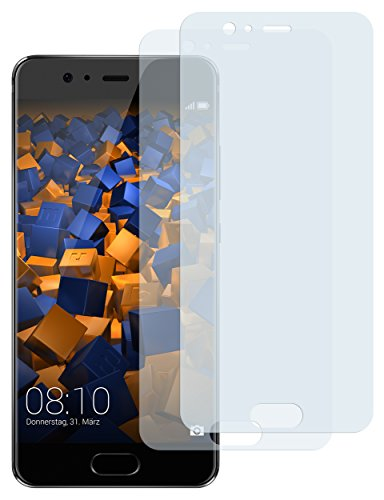 mumbi Schutzfolie kompatibel mit Huawei P10 Folie klar, Bildschirmschutzfolie (2X)