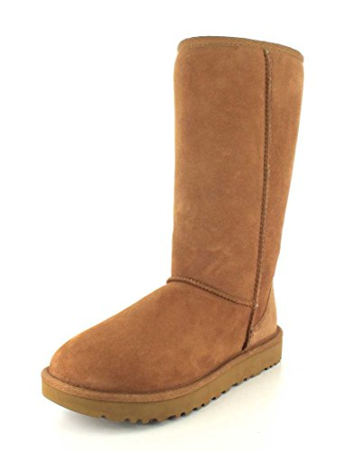 UGG Female Classic Tall II Classic Boot, Chestnut, 4 (UK)