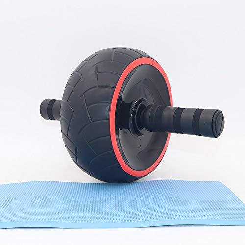 ASDUU Rodillo Abdominales Fitness para Ejercicios Lumbares con Almohadilla Extra Gruesa para Rodilla AB Roller Wheel