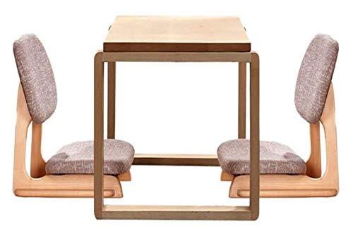 Mesa baja Mesa baja Escritorio de la computadora de tatami Altura, ceremonia de la mesa de centro de madera sólida tatami ventana de bahía Conjunto de té japonés Plaza Baja modernos Escritorio Regalos