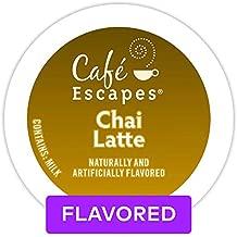Café Escapes Chai Latte Keurig K-Cups Coffee, 12 Count