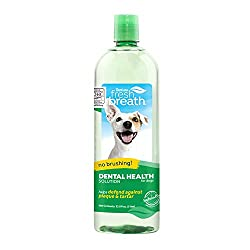 Tropiclean Water Additive - Best Dog Teeth Cleaning Products