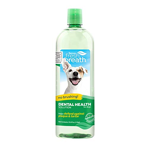 TropiClean Oral Care Water Additive for Pets, 33.8 Oz - Made in...