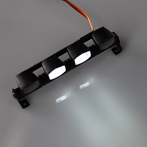 GoolRC AX 505W Multifunktions ultra helle LED Lampe für 1/10 1/8 RC HSP Traxxas TAMIYA CC01 4WD Axial SCX10 Modellauto
