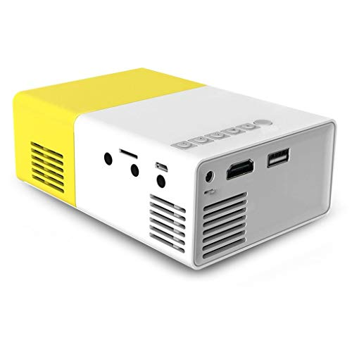 YG300 LED-projector 3,5 mm audio 320x240 pixels 1080p HD SD-kaart AV USB Mini-projector Home mediaspeler
