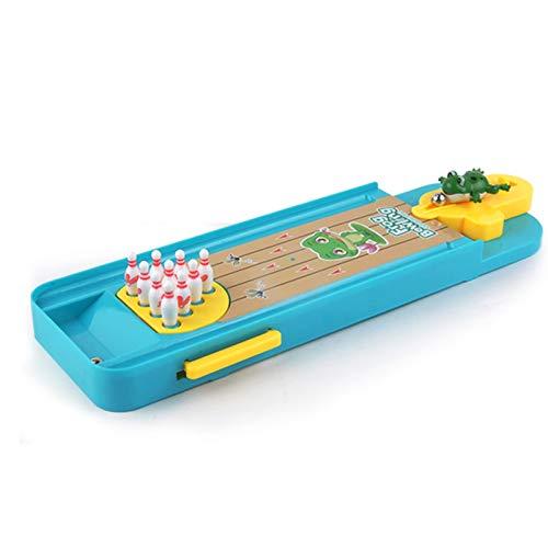 Ammily Los niños mini rana bolos de escritorio interactivos juegos educativos juguetes interiores de escritorio de juguete de interacción entre padres e hijos