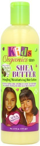 Africa's Best Kids Organic Shea Butter Detangling Moisturizing Hair Lotion, 12 Ounce (Pack of 2) by Atlas Supply Chain Consulting Services