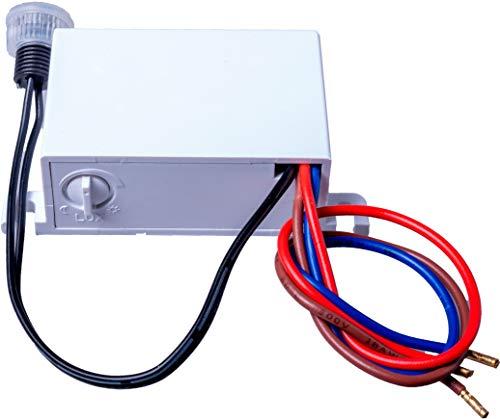 Schemeringssensor Mini installatie IP54 - LED geschikt 1W-2000W - 230V buiten schemerschakelaar
