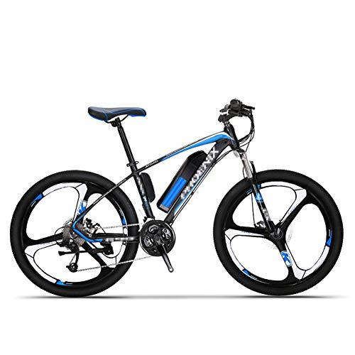 BMXzz VTT électrique pour Adultes, Vélo de Montagne électriqueBatterie Lithium-ION 36V 10Ah avec Moteur Haute Vitesse 250W 26\
