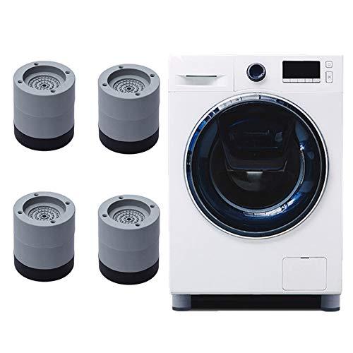 Almohadillas para pies de lavadora, Lavadora Universal Almohadillas Antivibración Lavadora, Almohadillas para pies antideslizantes de goma para anti vibración y Anti Walk (6cm)