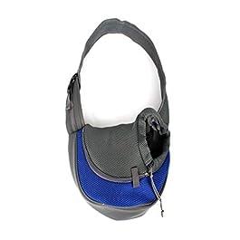 DLH Pet Backpack – Portable Pet Bag – Pet Out Bag – Pet Crossbody Bag – Pet Travel Goods