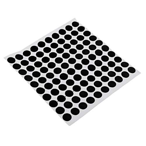 Baoblaze 100er Set Billardtisch Markierung Stickers Selbstklebend Spot Aufkleber Snooker Tisch Spots