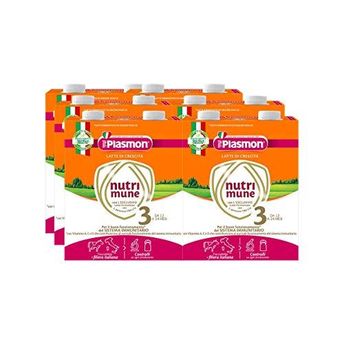 Plasmon Latte Liquido Nutri-Mune 3 - 12 Pezzi