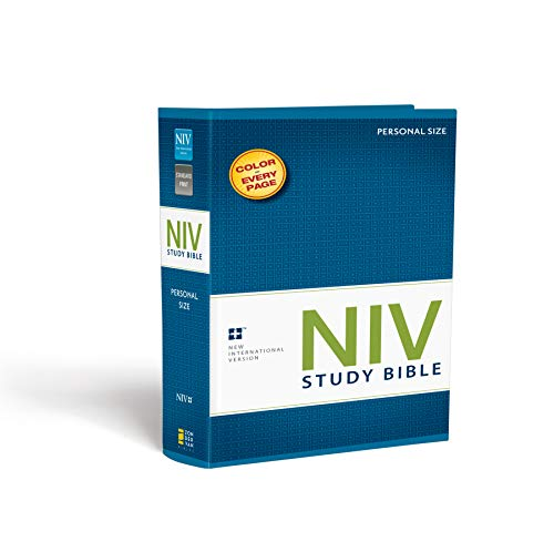 Compare Textbook Prices for NIV Study Bible, Personal Size, Paperback, Red Letter Edition Deluxe Edition Edition ISBN 0025986437336 by Zondervan