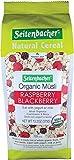 Seitenbacher Organic Muesli Raspberry Blackberry Natural Cereal, 13.2 Ounce