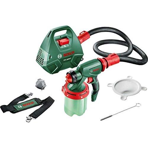 Bosch PFS 3000-2 Sitema Elettrico di Verniciatura a Spruzzo, in Scatola di Cartone, Serbatoio colore da 1000 ml, 650 W