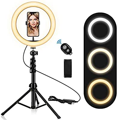 """10.2"""" Ring Light with Stand and Phone Holde..."""