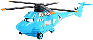 Disney Cars Disney Pixar Cars Dinoco Helicopter The King No.43 Metal Diecast Alloy Toy Car Plane Model for Children Loose Brand Car 3 1