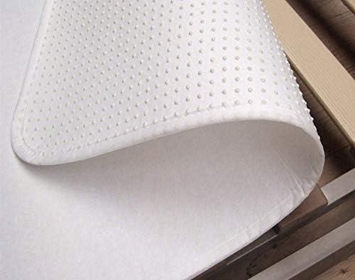 Biberna Sleep & Protect 0809504 Relleno Funda de colchón con Tiradores Molton, Transpirable, Alta absorción de Humedad 1x 100x200 cm, Blanco, 100 x ...