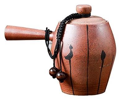 insun Vintage en céramique porcelaine longue poignée chinois Chine Kung Fu Théière 150ml