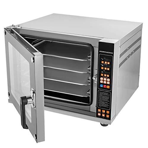 VEVO 4500W Ofen Toasterofen 4-stufiger Konvektionsofen mit Sprühfunktion 220V Arbeitsplatte 0-350 ℃ Air Fryer-Ofen Arbeitsplatte Toasterofen