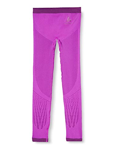 Odlo Kinder SUW Bottom Pant Performance WARM Kids Unterhose, Purple Cactus Flower-Charisma, 140