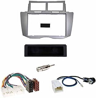 Radio Blende Adapter für TOYOTA Yaris Verso P2 Facelift Autoradio Rahmen Kabel