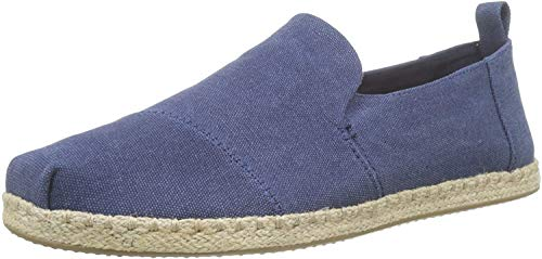 TOMS Men's Deconstructed Alpargata Rope Espadrilles, Blue (Navy 000), 9 UK