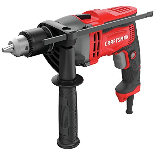 CRAFTSMAN Drill/Driver, 7-Amp, 1/2-Inch (CMED741)