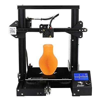 Creality Ender 3 3D Printer Economic Ender DIY Kits with Resume Printing Function 220x220x250MM