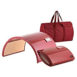 SKYTOU Sauna Dome, Far Infrared Home Room Energy Original Portable Foldable Patented Design Home Salon Use with Remote Control Carrying Bag Low Power Consumption Low EMF Lasse