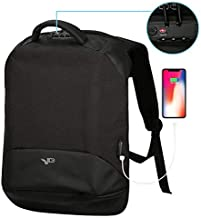 Anti Theft Business Laptop Backpack, Travel Lightweight Laptops Bag with USB Charging Port,TSA Approved Lock, College School Computer Backpack or Women & Men Fits 17