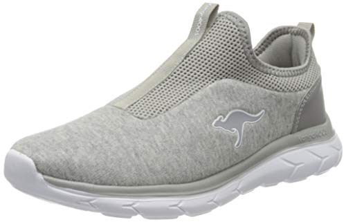 KangaROOS Damen KN-Spirit Sneaker, Vapor Grey, 37 EU