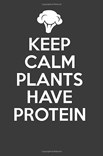 Keep Calm Plants Have Protein: 6