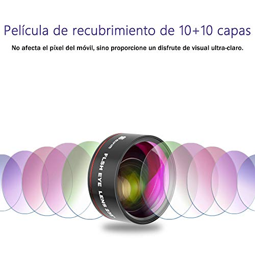 Selvim-Lentes-para-Telefono-Movil-9-en-1-Kit-con-22X-Teleobjetivo-235-Fisheye-062X-Gran-Angular-25X-Macro-Version-Actualizada-con-Lentes-BLU-Ray-para-Mejor-Resolucion-Universal-iOS-Android