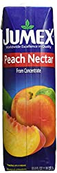 1 liter carton of peach nectar