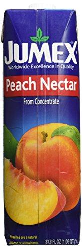 Jumex Peach Nectar, 33.8 FL OZ.
