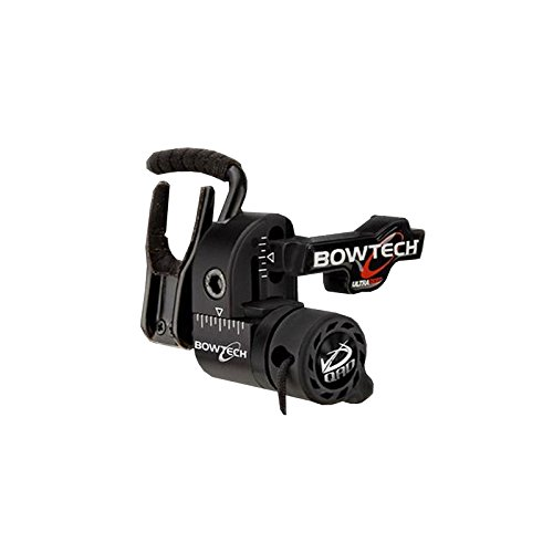 QAD Bowtech Ultrarest Archery Rests, Black, Right Hand