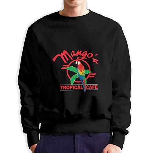 Sunwan Mango's Tropische Cafe Mouw Lange Shirt Top Tops Casual Sweatshirt Blouse Tee Shirts Tees Klassieke Crewneckpatchwork Korte tiener Grote Blouses