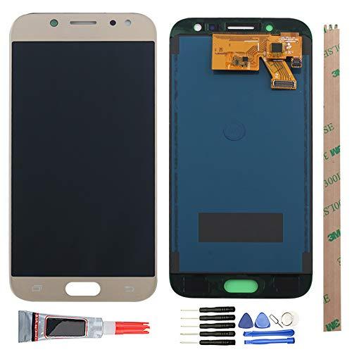 YHX-OU 5.2' per Samsung Galaxy J5 2017 J530 SM-J530F di Riparazione e Sostituzione LCD Display Touch Screen Digitizer+ con Utensili Inclusi (d'oro)