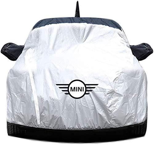 Funda para coche Funda impermeable para coche, Fundas exteriores para vehículos a prueba de viento a prueba de lluvia para todo tipo de clima Compatible con MINI COOPER MINI R56 / CLUBMAN R55 / COUNT