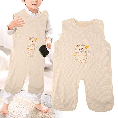 Saco de dormir para niños, saco de dormir para recién nacidos, cómodo para la protección de los niños(L, Baseball bear thin cotton)