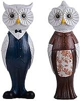 装飾品フクロウ樹脂彫刻デコレーションノルディックスタイルの寝室部屋創造的性格子供誕生日プレゼント工芸品工芸品飾り 美しくスタイリッシュ