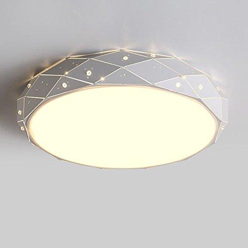 ZHFC-tour conduit plafonnier, l'originalité, la personnalité, la géométrie, lampe shell, chambre lampe, shell de raccords, diy boîtier,diamètre 45cm48 watts,tricolor produit fini