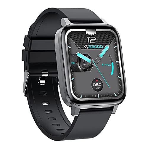 ZGZYL F60 Señoras Reloj Inteligente con La Temperatura Presión Arterial Ratio Cardíaco Monitoreo De Oxígeno Actividad Seguimiento De Seguimiento Pedómetro Reloj Deportivo Impermeable,C