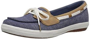 Keds Women s Glimmer Chambray Sneaker Navy 5 M US